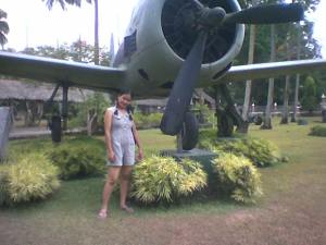 I can't remember why there is a plane here! =p
