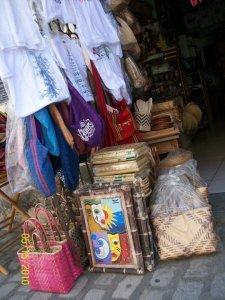 Souvenir shops..