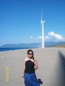 I palpitated seeing them. This is the only place which I wanted to see here in Ilocos. And the lighthouse...