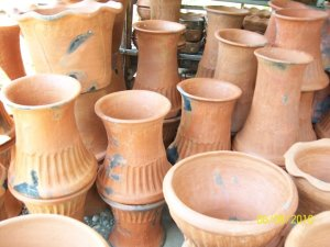Pottery has been one of their source of income...