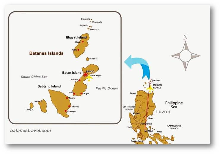 Batanes map