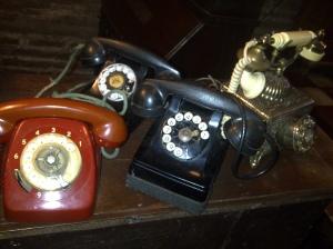 Vintage phones..