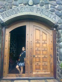 Entrance of Fundacion Pacita. She is a Filipino artist, known around the world for her gypsy art.