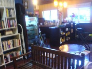 Libro cafe, is an ancient house in Tacloban turned into a Cafe which for me offers one of the finest and creamiest blueberry cheesecake I've ever tasted. In here,  you will find hard to find books at a lower price. With staff that are so accommodating. You can stay there reading while having what's in their chalk-lettered menu and the owner would not mind.
