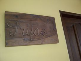We stayed at Frijas...Pronounced as Frias...