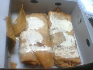 EK's pork chimis!