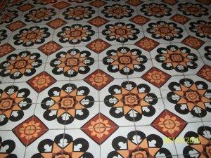 Century old tiles...