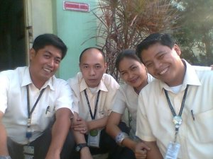 With Mr. Regala, Mr. Completado and Mr. Maigue. First name: Mark...(--,)