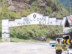 Welcome arch of Nueva Ecija..