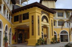 Facade of Planta hotel..