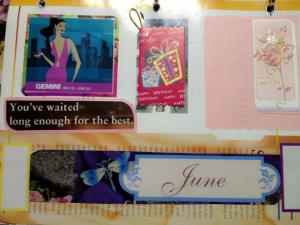 My birth month...JUNE!(--,)
