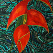 Birds of paradise by O'Keefe Image courtesy of wikipaintings.org