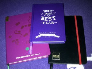 I've got 3 planners for 2014! Yey!