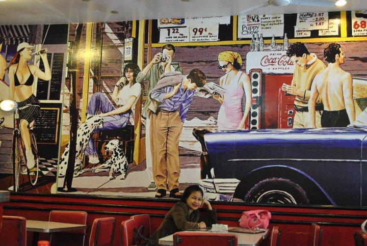 mile hi baguio mural