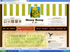 Messy Bessy..