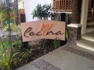Cocina is Spanish word for kitchen...=)