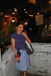 Casa Manila, Intramuros. I used it as a belt...