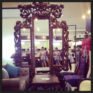 I so love this mirror!