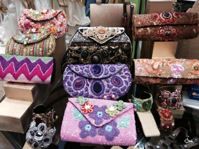 intricate bags