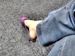purple velvet..