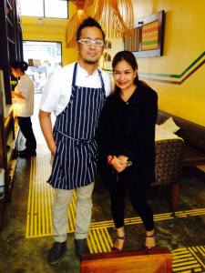 Yes, I was with the Chef! <3