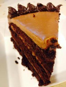 Chocolate truffle cake!