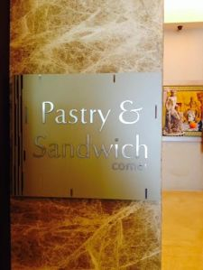 Pastry corner!