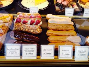 And eclairs!