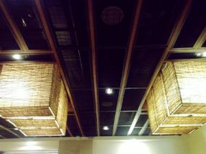 Look up look up.. loving ceilings and decorative lighting lately...