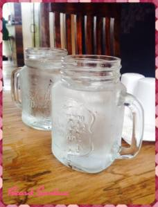 "Mason jars are so ""in""!"