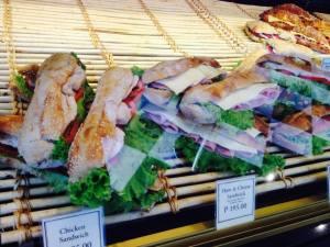 Their sandwiches..