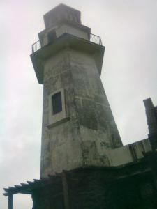 Mahatao Lighthouse, Batanes... Still raining...