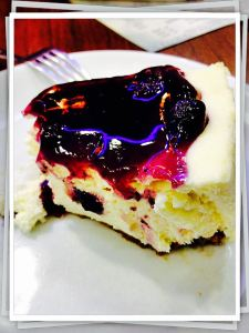 Blueberry cheesecake! <3