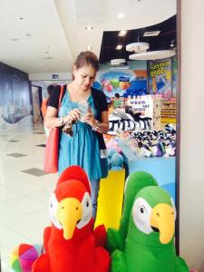 At the Manila Ocean park... Souvenir shop..