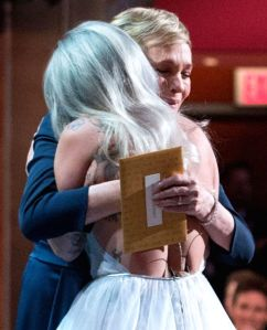 Source: http://www.cosmopolitan.co.uk/entertainment/news/a33676/lady-gaga-oscars-sound-of-music-performance/