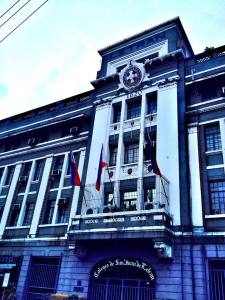 And we passed by one of the oldest schools in Manila.. Letran...