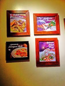 framed pastas