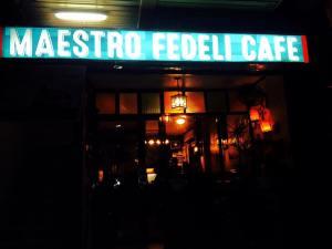 Maestro Fedeli cafe..