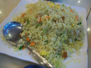 Yang chow rice..