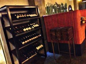A corner for liquor lovers too..