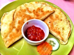 Polo quesadillas..