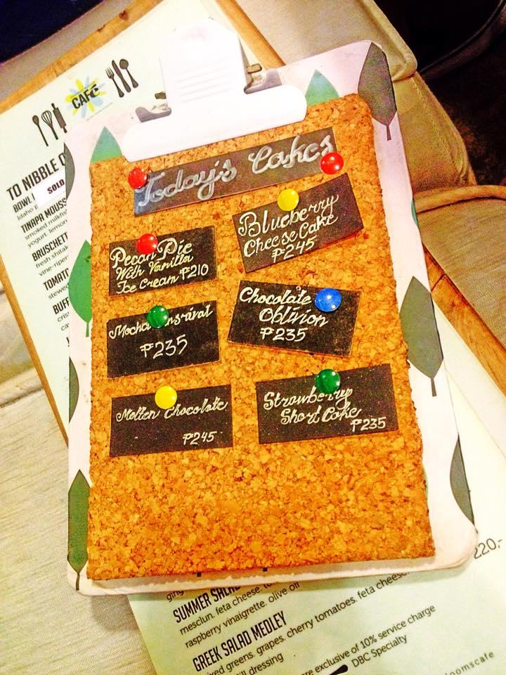 todays cakes