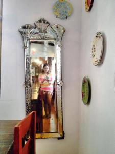 Vintage mirror..