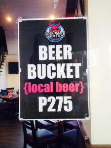 Easy on the budget for beer drinkers..=)