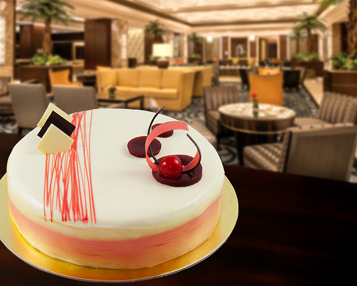 crimson cake