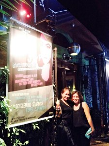 Us beside Pinay's poster! We rock! =)