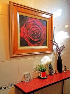 red rose frames