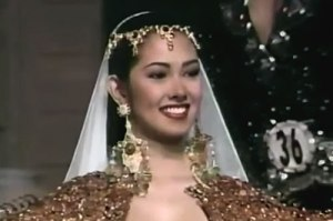 Ruffa was a sure win then. We were in college and we were wishing that she join pageants as she got it all to win. Courtesy of: http://www.pep.ph/celeb/photos/5027/filipina-celebs-turned-beauty-queens