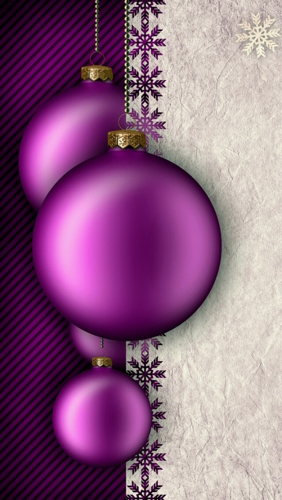 violet balls