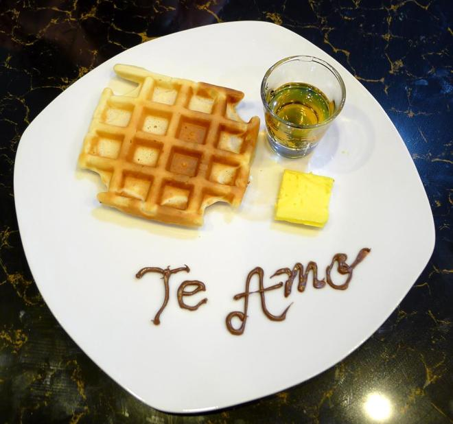 pancake te amo